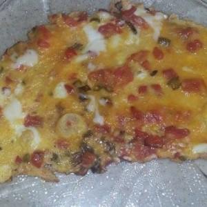 Biberli Domatesli Omlet Tarifi