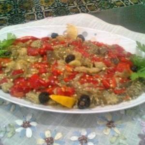 Kozde Patlican Salatasi