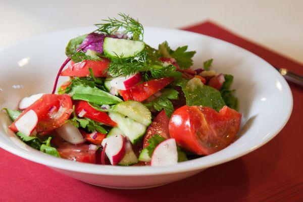 Sebze Salatasi