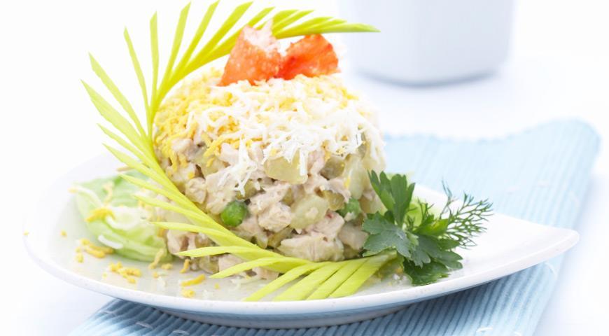Sinitzel Salatasi