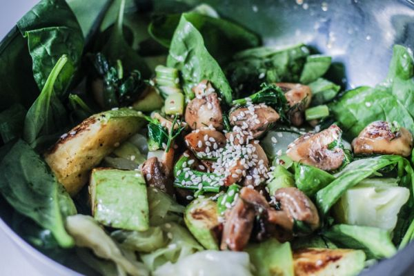 Vejeteryen Salatasi