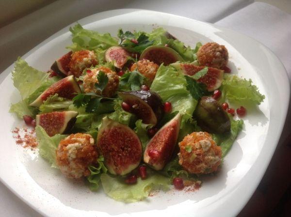 incir salatasi