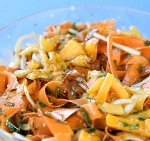 Kore Usulu Kabak Salatasi